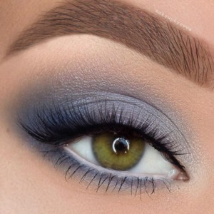 easter-makeup-ideas-blue-smoky-eyes