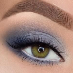 easter-makeup-ideas-blue-smoky-eyes