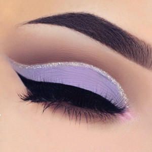 easter-makeup-ideas-purple-matte-eyeshadow