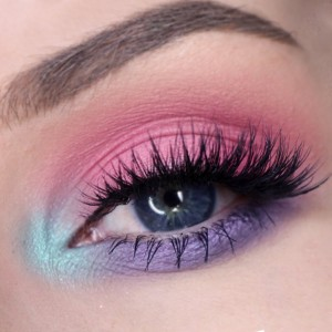 easter-makeup-ideas-purple-pink-blue-eyeshadow (1)