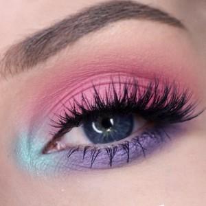 easter-makeup-ideas-purple-pink-blue-eyeshadow (1)